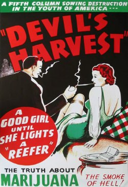 1920's Reefer Madness Poster