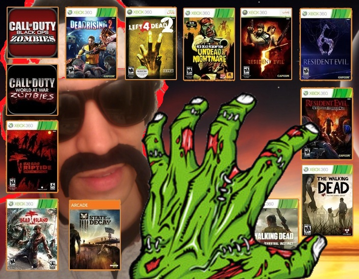 A look back on ALL the Zombie Games for the Xbox 360!