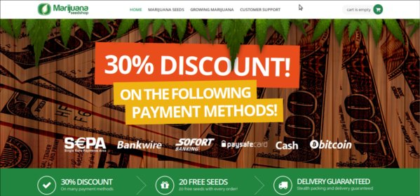 30 percent off with bitcoin